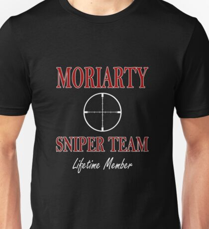 Moriarty Sniper Team Unisex T-Shirt