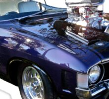 Purple Ford Falcon with Blower Sticker