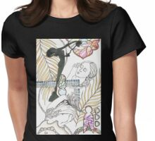 american sculpture tangle Womens Fitted T-Shirt