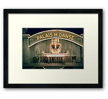 Palais de Dance St Kilda  19580301 0010  Framed Print