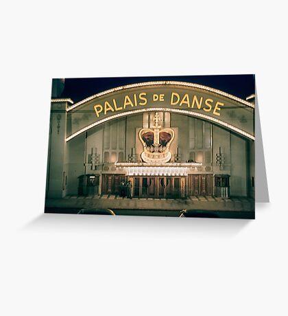 Palais de Dance St Kilda  19580301 0010  Greeting Card