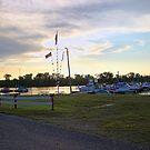 Sunset over Shnango by Sandra Lee Woods