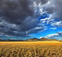 Storm Clouds and Sunshine by Jill Fisher