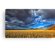 Storm Clouds and Sunshine Canvas Print
