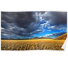 Storm Clouds and Sunshine Poster