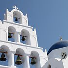 Pyrgos, Santorini, Greece by Carole-Anne