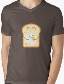 Hug the Egg Mens V-Neck T-Shirt