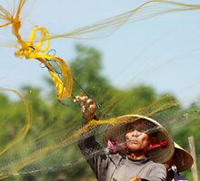 Hoi An Fishing by byronbackyard