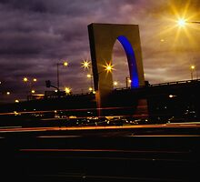 Tullamarine Freeway Arch by Shari Mattox