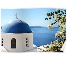 Oia, Santorini, Greece Poster