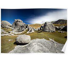 Limestone, Castle Hill Poster