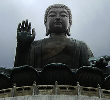 Giant Buddha Statue by cadellin