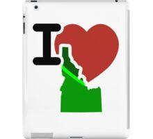 I Heart Love Idaho ID iPad Case/Skin