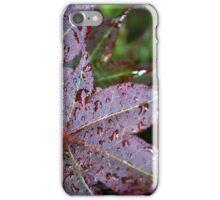 Red Maple Skin iPhone Case/Skin
