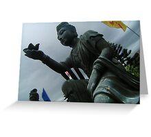 Buddhist Statue Greeting Card