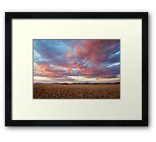 Paint the Sky Framed Print
