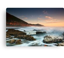 Coalcliff Rising - Coalcliff, NSW Canvas Print