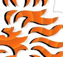 RVP - orange text Sticker
