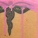 Peeking Through Tattoo by Vikki-Rae Burns