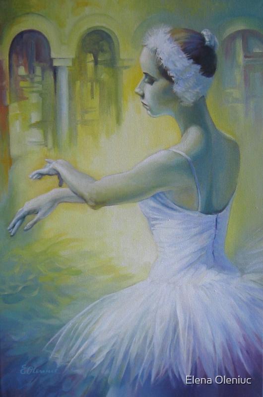 Swan dance by Elena Oleniuc