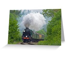 Lord Nelson - The Watercress Line Greeting Card