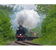 Lord Nelson - The Watercress Line Photographic Print