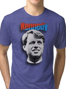 RFK 1968 Campaign Poster t-shirt Tri-blend T-Shirt