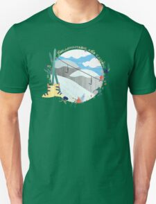 The Mountains Are Calling - Slopes Unisex T-Shirt