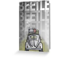 Beetle [2012] Greeting Card