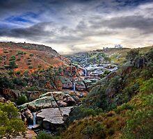 A Grand View - Mannum Falls, Murraylands, SA by Mark Richards