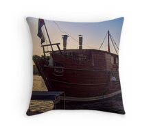 Floating Diner Throw Pillow