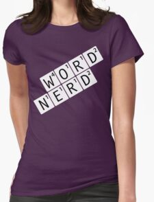 Word Nerd Womens Fitted T-Shirt