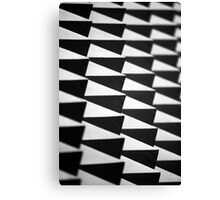 Abstract spike wall Canvas Print