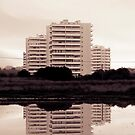 Buildings reflections by Mauro Rodrigues