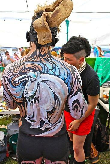 Punked Stallion by Vikki-Rae Burns