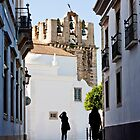 historical street with tourists by Mauro Rodrigues