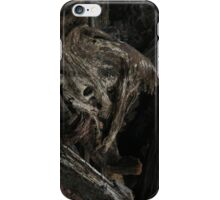Raw Bog Wood Knot Image iPhone Case/Skin