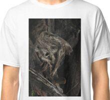 Raw Bog Wood Knot Image Classic T-Shirt