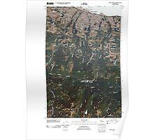 USGS Topo Map Washington State WA Port Angeles 20110429 TM Poster