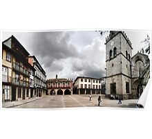 Panoramic view of Plaza Oliveira Poster
