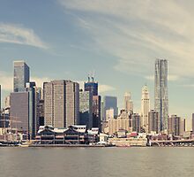 New York City - Manhattan Waterfront Panorama by thomasrichter