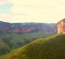 Grose Valley panorama by Michael Matthews
