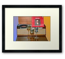 Mozart by candlelight Framed Print