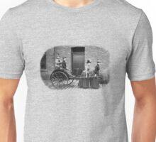 Women Pulling Cart Unisex T-Shirt