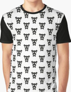 Lazy Bear B&W Graphic T-Shirt