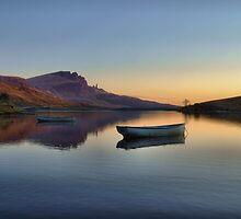 Sunrise over Loch Fada by skyesnaps