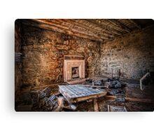 Modern Fireplace Canvas Print