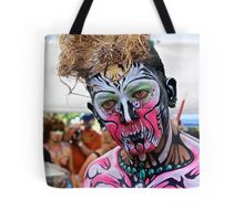 Punked Face Art Tote Bag