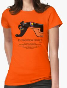 Rubbernozedoze Tee Colour Womens Fitted T-Shirt