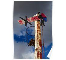 Signal in time - Pattarah, Tasmania Poster